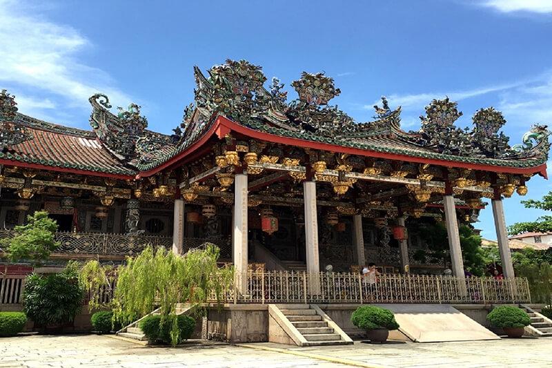 Nhà cổ Khoo Kongsi tour thuyền biển hạng sang