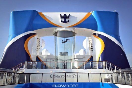 Ripcord by iFly trên du thuyền quantum of the seas