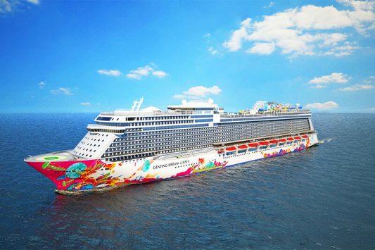 Tour du thuyền Genting Dreams 5 ngày 4 đêm